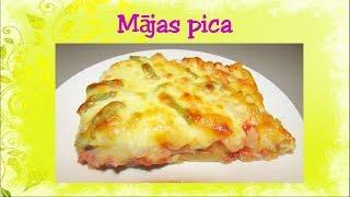 Mājas pica. Video recepte. 31. sērija