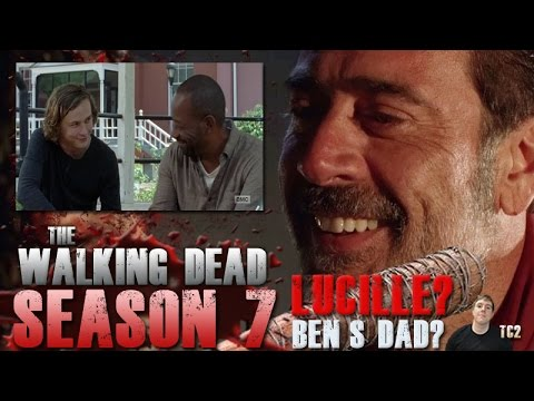 The Walking Dead Season 7 Episode 3 - Did Negan Lucille Ben's Dad?