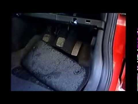 how to stop water from leaking under the footwell in a corsa c  youtube 2006 ford f150 fuse box 2006 ford explorer fuse box