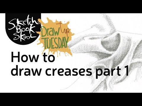 Draw Tip Tuesday - How to draw creases part 1