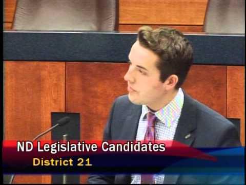 North Dakota LWV Candidate Forum: District 21