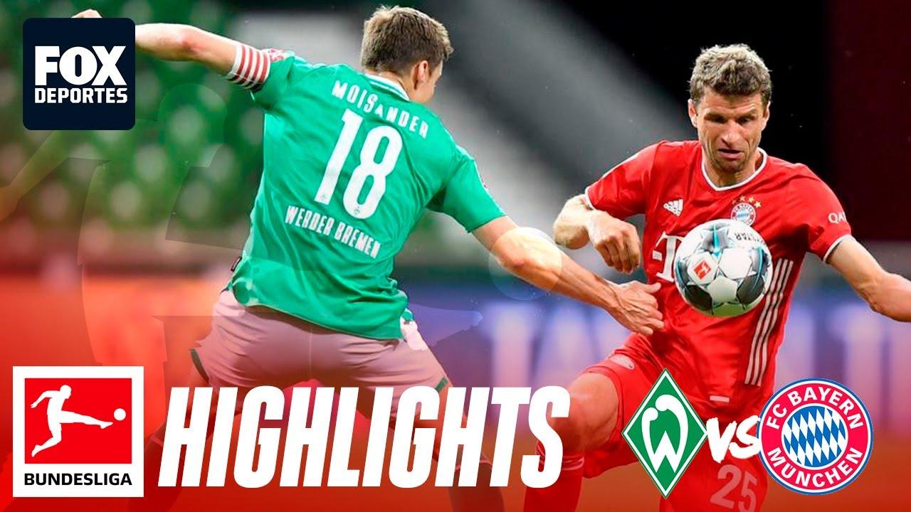 Bayern MГјnchen Werder Bremen 2021