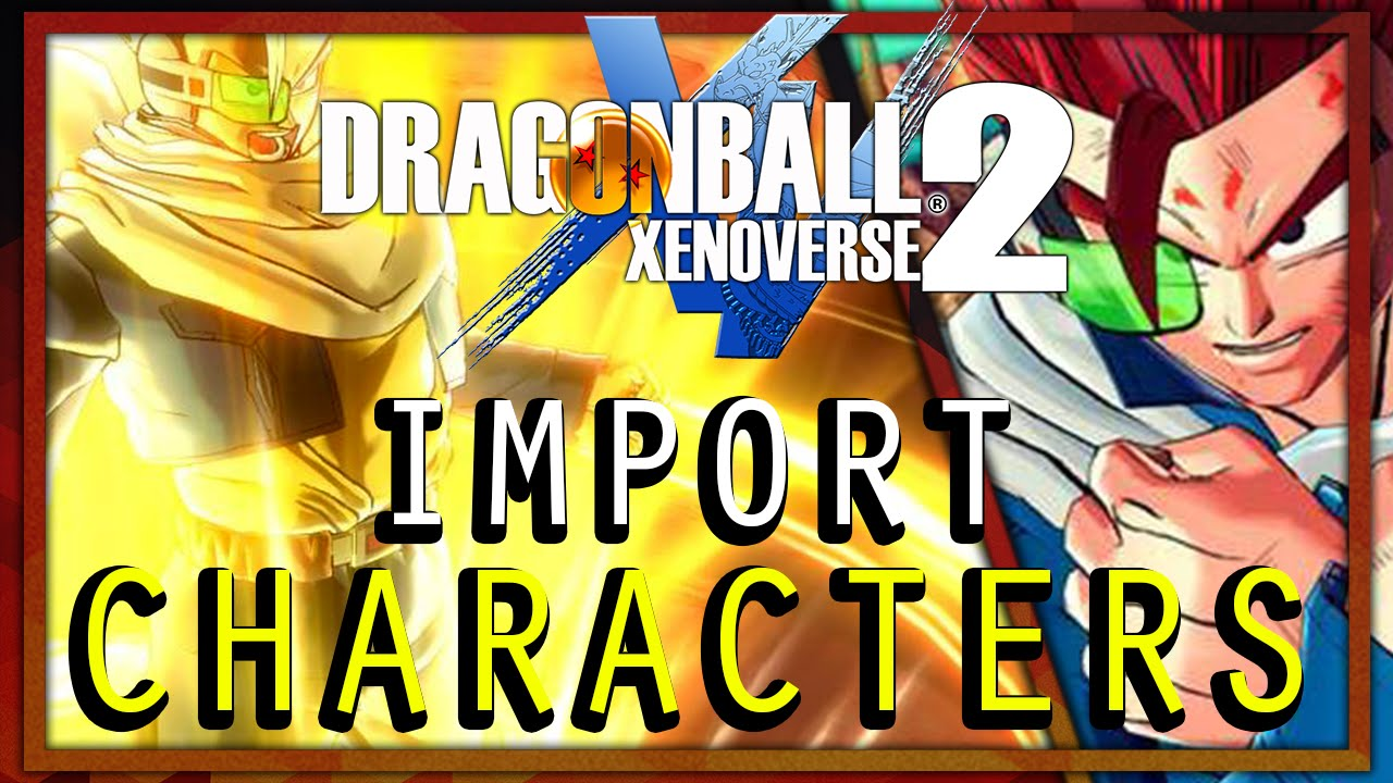 Dragon Ball Xenoverse 2 | Modded Character Roster #1 - YouTube