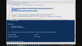 Achieve more in less time using the new SQL PowerShell - THR2114