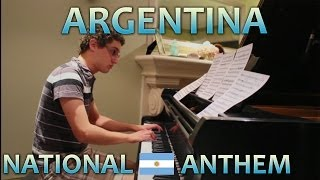 Argentina Anthem - Piano Cover (World Cup 2014)