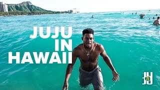 JuJu Smith-Schuster Goes to Hawaii! - Vlog 1