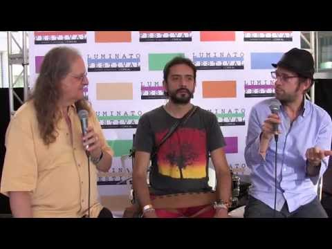 Colombian band Sidestepper Interview at Luminato Live