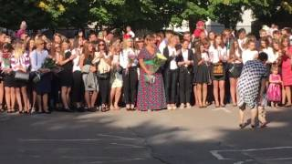 Броварська ЗОШ 7, 1 вересня 2016