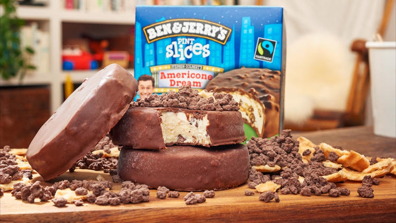 Ben Jerry S Pint Slices Americone Dream Review Ice Creamed My Pants Youtube All of stephen colbert's proceeds from sales of this flavor go to charity. ben jerry s pint slices americone dream review ice creamed my pants