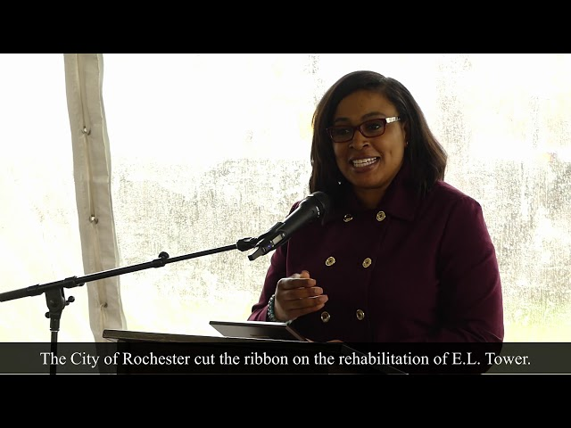 Mayor lovely warren speaks about E.L. Tower renovation and how the project started.