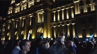 Multitudinaria marcha en apoyo al juez Alejo Ramos Padilla