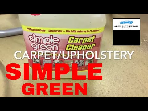 Simple Green Carpet And Upholstery Cleaner Concentrate!!