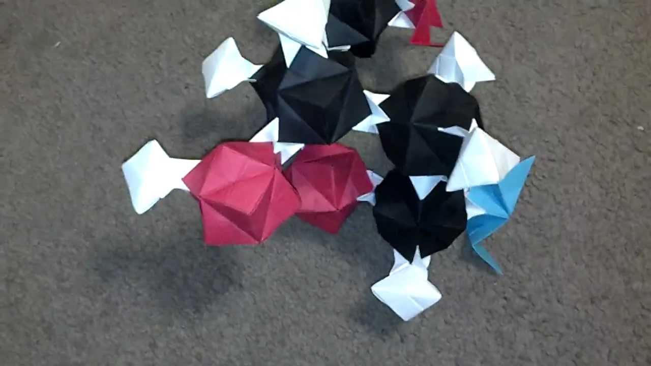 Origami DNA - Reinforced Sugar Bonds - YouTube