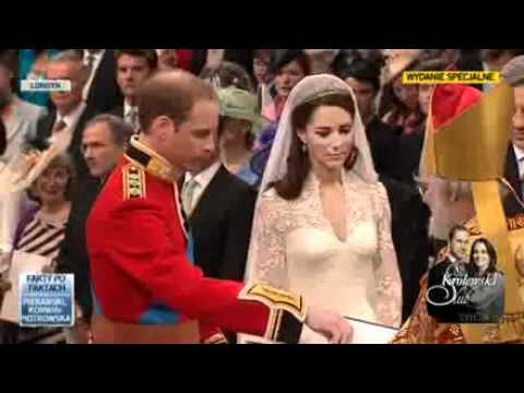 ślub Księcia Williama I Kate Wedding Of Prince William And Kate