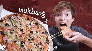 กินพิซซ่าถาดใหญ่ ไม่แบ่งใคร!! - ยททว