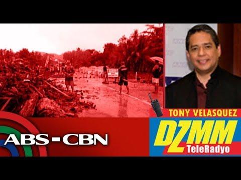 Bagyong 'Chedeng', nagdulot ng baha at landslides sa Davao Region | DZMM