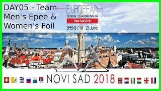 European Championships 2018 Novi Sad Day05 - Piste 6 thumbnail