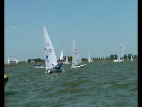 Laser Medal Race at Medemblik - ISAF Sailing World Cup