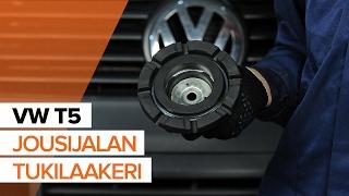 Koko VW TRANSPORTER -huoltovideoiden soittolista AUTODOC CLUBILTA
