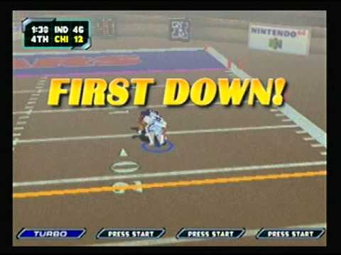 NFL Blitz 2000 - Indianapolis Colts vs Chicago Bears (2nd Half)
