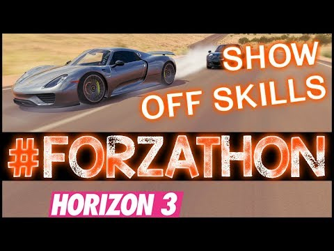 Forzathon - Porsche 959, Show Off Skills - Forza Horizon 3 Forzathon Vision Becomes Reality FH3