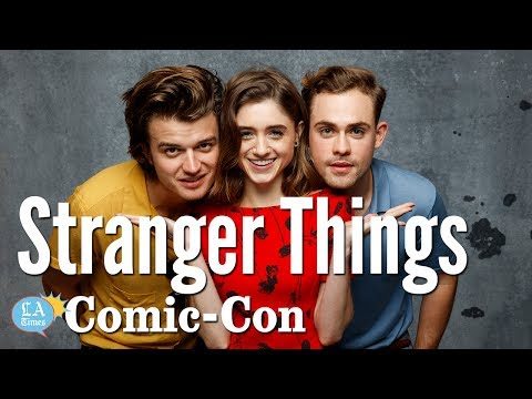 Stranger Things Cast Says The Hype Was Real: Comic-Con | Los Angeles Times