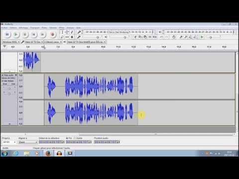 Comment exporter des audio Audacity en format MP3