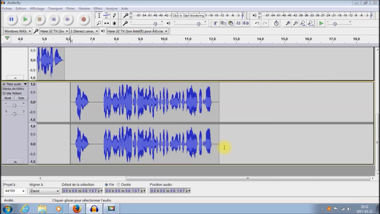 encodeur mp3 audacity
