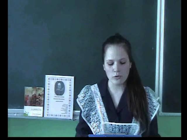 Изображение предпросмотра прочтения – АннаФилипенко читает произведение «Сонет № 39. О, как тебе хвалу я воспою…» У.Шекспира