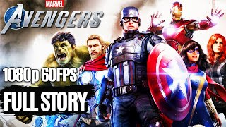 MARVEL'S AVENGERS All Cutscenes (Game Movie) 1080p HD