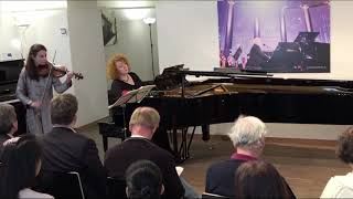 Bach c minor Louise Chisson - Tamara Atschba