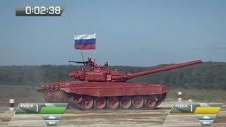 Танковый биатлон. Эфир от 12.10.2013