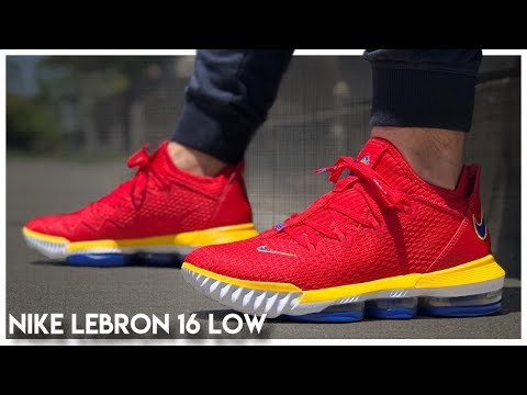 Nike LeBron 16 Low Review - YouTube