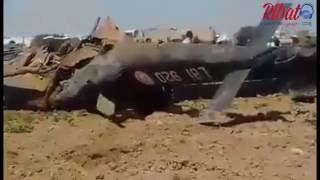 حادثة تحطم مروحية عسكرية إثر سقوطها بطريق قابس من ولاية صفاقس