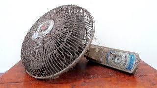 Mr.Electricity Restoration Project // Very Old Wall Fan Restoration