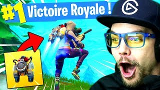 TOP 1 avec le JETPACK sur FORTNITE: Battle Royale !!