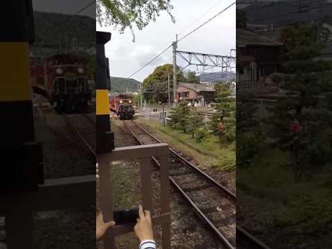 Romantic train  Kyoto  on 27/4/2017