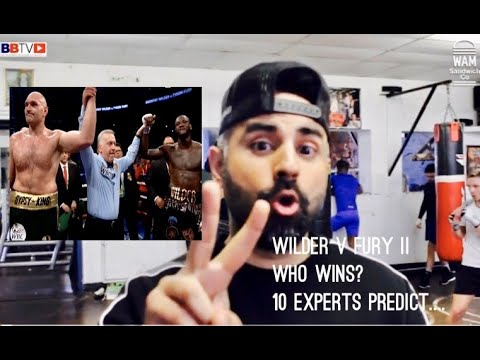 FURY WILDER II: 10 FIGHTERS PICK FURY TO WIN! FIND OUT WHY