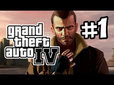 GTA IV Gameplay Walkthrough Part 1 - Intro (Let's Play)