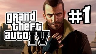 GTA IV Gameplay Walkthrough Part 1 - Intro (Let