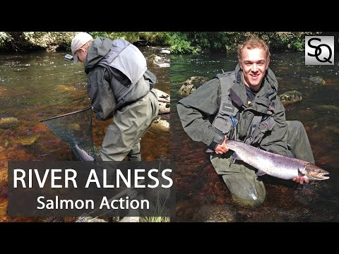Salmon Fishing In Scotland - River Alness: Double Or Nothing