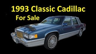 CLASSIC CADILLAC CAR ~ 1 OWNER INVESTMENT GRADE DAILY DRIVER