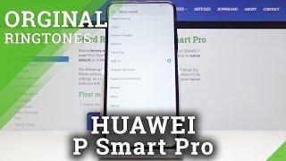 List of Ringtones in HUAWEI P Smart Pro – Change The Tune