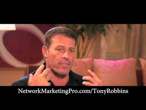 Donald Trump, Tony Robbins, Robert Kiyosaki talking about Network Marketing