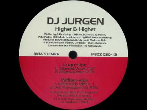 Dj Jurgen - Higher & Higher (Klubbheads Mix)