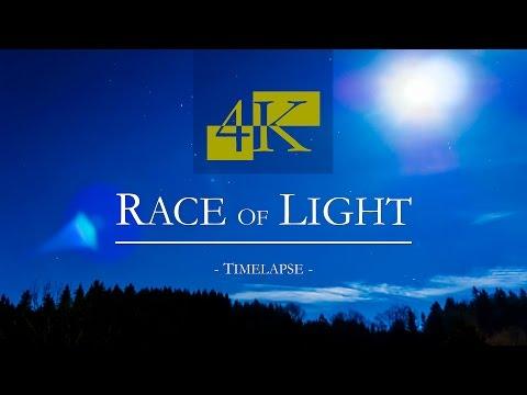 Race of Light - Timelapse - Day & Night of Allgäu/Germany - 4K