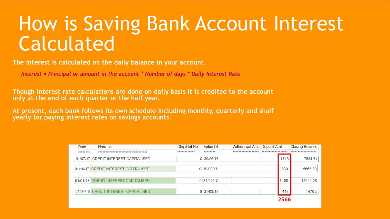 tax return interest from bank accounts