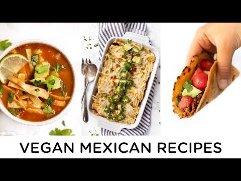 HEALTHY VEGAN MEXICAN RECIPES ‣‣ easy & meal prep friendly