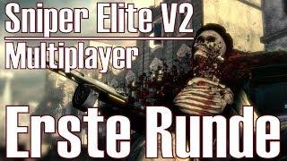 Sniper Elite V2 ★ Erste Runde ★ Scharfschützen Multiplayer [Deutsch/HD]