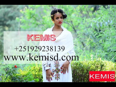 KEMIS DESIGNS- Modern Habesha Dress Behind the scenes